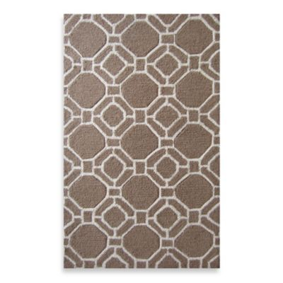 Loloi Rugs Super Luxe Geometric Brown/Ivory Rug