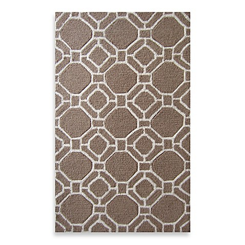 Buy Loloi Rugs Super Luxe Geometric Brown Ivory Rug From