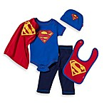 Superman 0 to 6 Months 5-Piece Gift Set