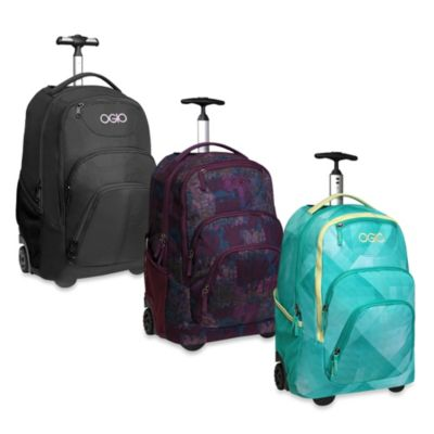 OGIO Phantom Wheeled Backpack in Black Orchid