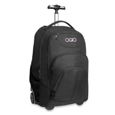 OGIO Phantom Wheeled Backpack in Black Orchid
