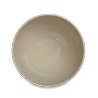 Real Simple® Square 6-Inch Cereal Bowl in Taupe