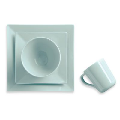 Real Simple® Square 4-Piece Place Setting in Seaglass