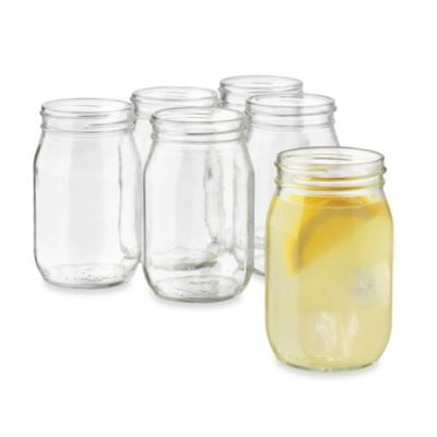 Libbey® Country Folk 16-Ounce Mason Cooler Set (Set of 6)