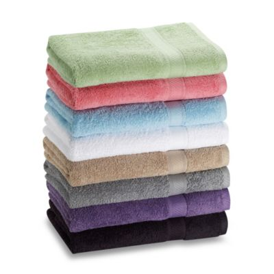 Lasting Color Bath Towel in Grey