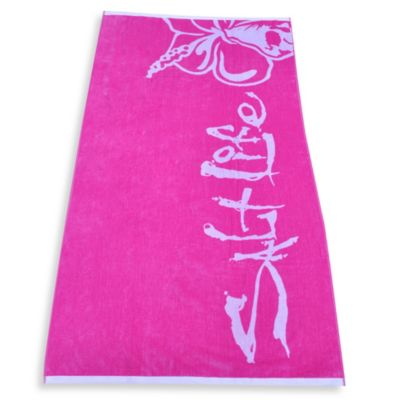 Salt Life® Hibiscus Beach Towel