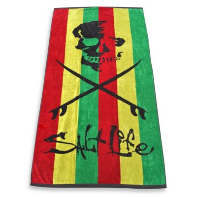 Salt Life® Rasta Beach Towel