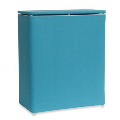 Lamont Home™ Brights Upright Hamper in Peacock
