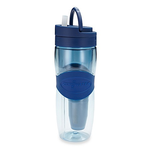 buy zerowater 28 ounce travel filter bottle from bed bath beyond. Black Bedroom Furniture Sets. Home Design Ideas