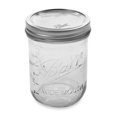 Ball® Wide Mouth Pint Canning Jars (Pack of 12)