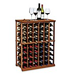 N&#39;FINITY Wine 6-Column Wine Rack Kit in Dark Walnut <BR>
