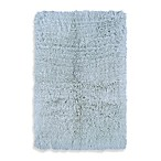 Linon Home Flokati Area Rug in Pastel Blue