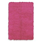 Flokati Rug in Fuschia