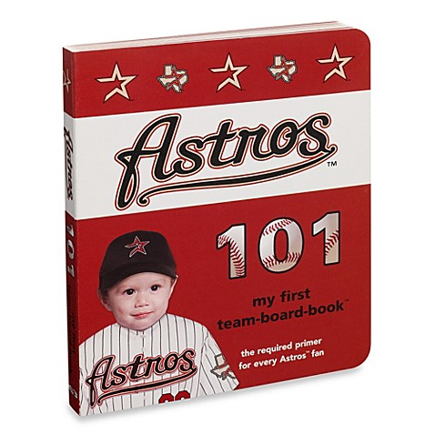 Houston Astros 101 in My First Team Board Books™