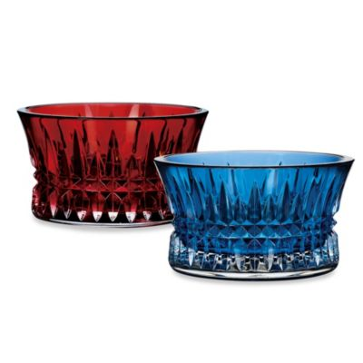 Waterford® Lismore Diamond Crimson Nut Bowl