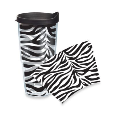 Tervis® Zebra Stripe Wrap 24-Ounce Tumbler with Black Lid