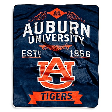 Auburn University Raschel Throw