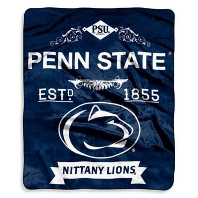 Penn State University Raschel Throw