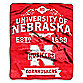 University of Nebraska Raschel Throw