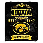 University of Iowa Raschel Throw