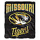 University of Missouri Raschel Throw