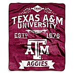 Texas A&M University Raschel Throw