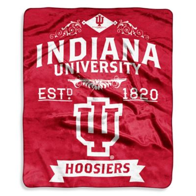 Indiana University Raschel Throw
