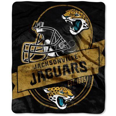 NFL Jacksonville Jaguars Raschel Throw