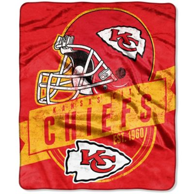 Kansas City Chiefs Raschel Throw