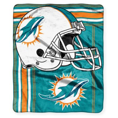 NFL Miami Dolphins Raschel Throw