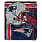 NFL New England Patriots Raschel Throw