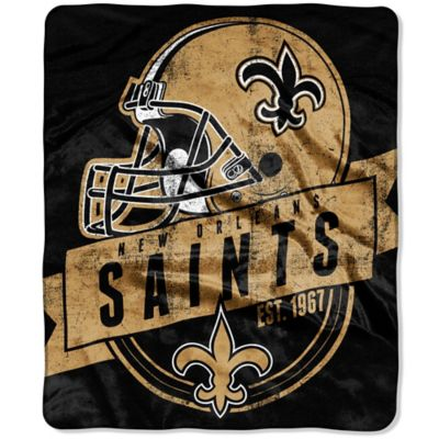 NFL New Orleans Saints Raschel Throw