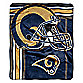 NFL St. Louis Rams Raschel Throw