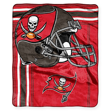 NFL Tampa Bay Buccaneers Raschel Throw