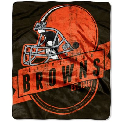 NFL Cleveland Browns Raschel Throw