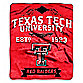 Texas Tech University Raschel Throw