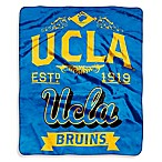 UCLA Raschel Throw