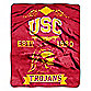 University of Southern California Raschel Throw