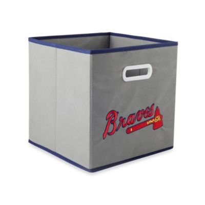 MLB Atlanta Braves Fabric Storage Drawer