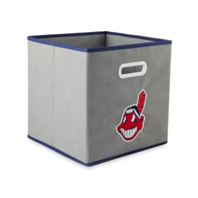 MLB Cleveland Indians Fabric Storage Drawer