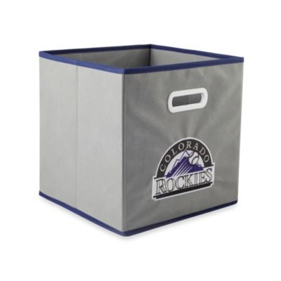 MLB Colorado Rockies Fabric Storage Drawer