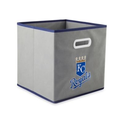 MLB Kansas City Royals Fabric Storage Drawer