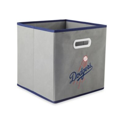 MLB Los Angeles Dodgers Fabric Storage Drawer