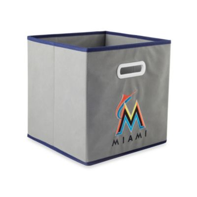 MLB Miami Marlins Fabric Storage Drawer