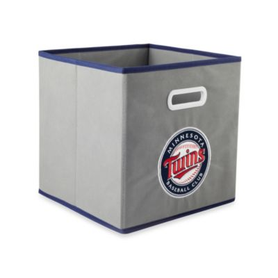MLB Minnesota Twins Fabric Storage Drawer