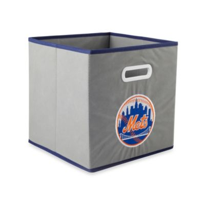 MLB New York Mets Fabric Storage Drawer