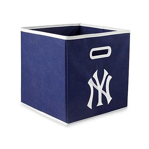 Buy Mlb New York Yankees Fabric Storage Drawer In Blue