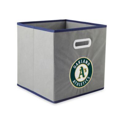 MLB Oakland Athletics Fabric Storage Drawer