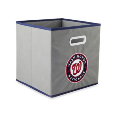 MLB Washington Nationals Fabric Storage Drawer