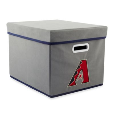 MLB Arizona Diamondbacks Fabric Storage Drawer in Grey